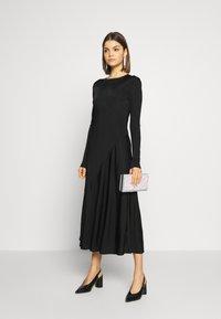Weekday - KAREN DRESS - Jersey dress - black - 1