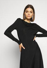 Weekday - KAREN DRESS - Jersey dress - black - 3