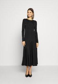 Weekday - KAREN DRESS - Jersey dress - black - 0