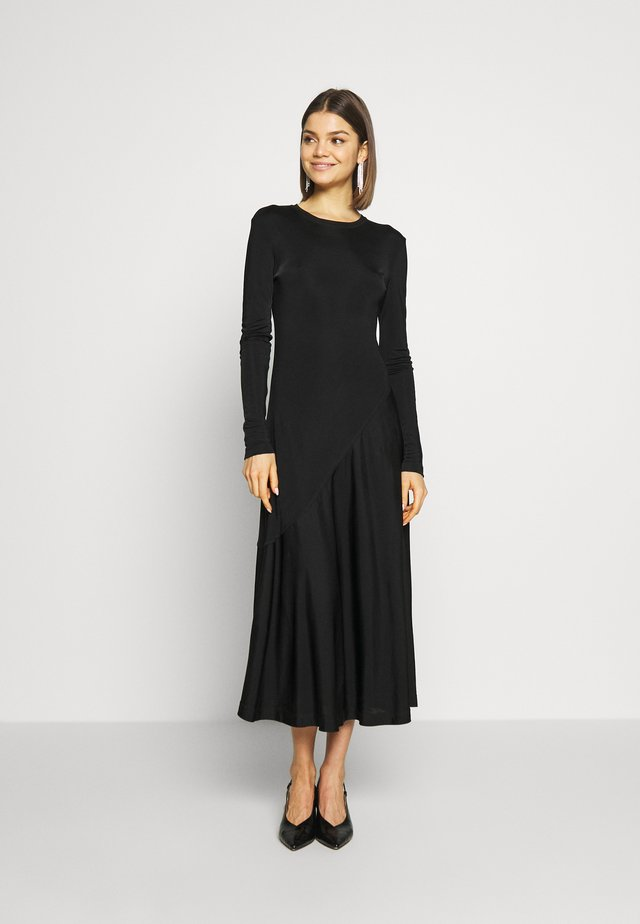 KAREN DRESS - Jerseykleid - black