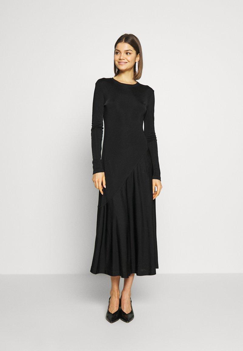 Weekday - KAREN DRESS - Jersey dress - black