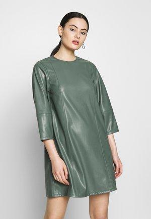 MERAL DRESS - Day dress - dark dusty green