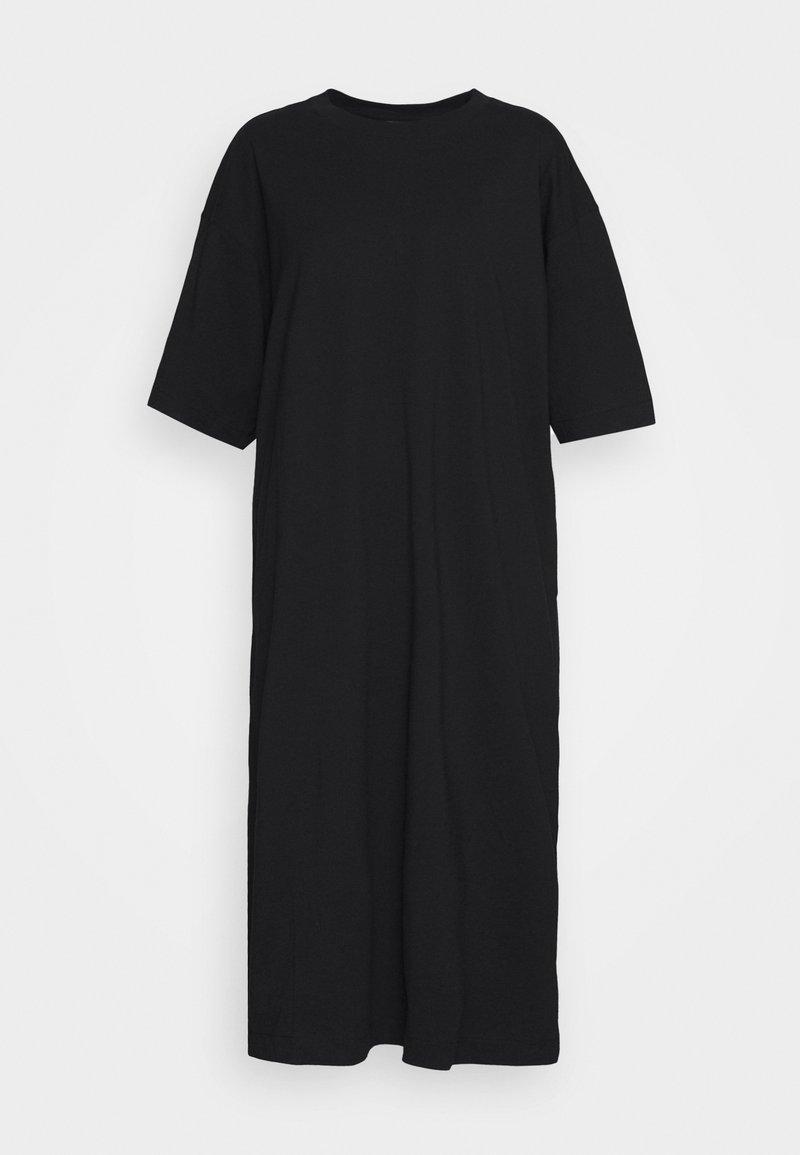 Weekday - INES DRESS - Robe en jersey - black