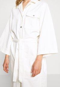 Weekday - BAY DRESS - Blousejurk - white - 5