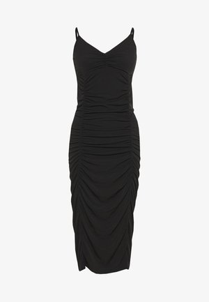 BRIELLA DRESS - Vestito di maglina - black