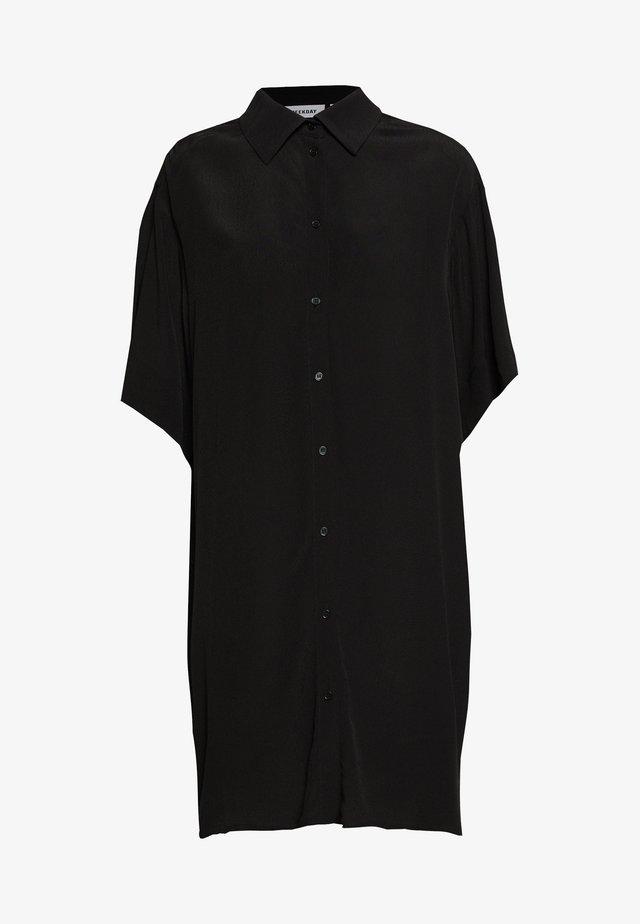 HARMONY DRESS - Blusenkleid - black