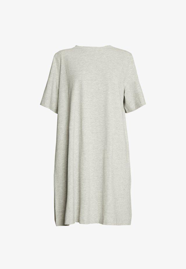 TRISH DRESS - Trikoomekko - grey melange