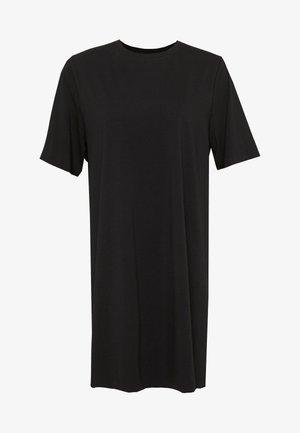 TRISH DRESS - Žerzejové šaty - black