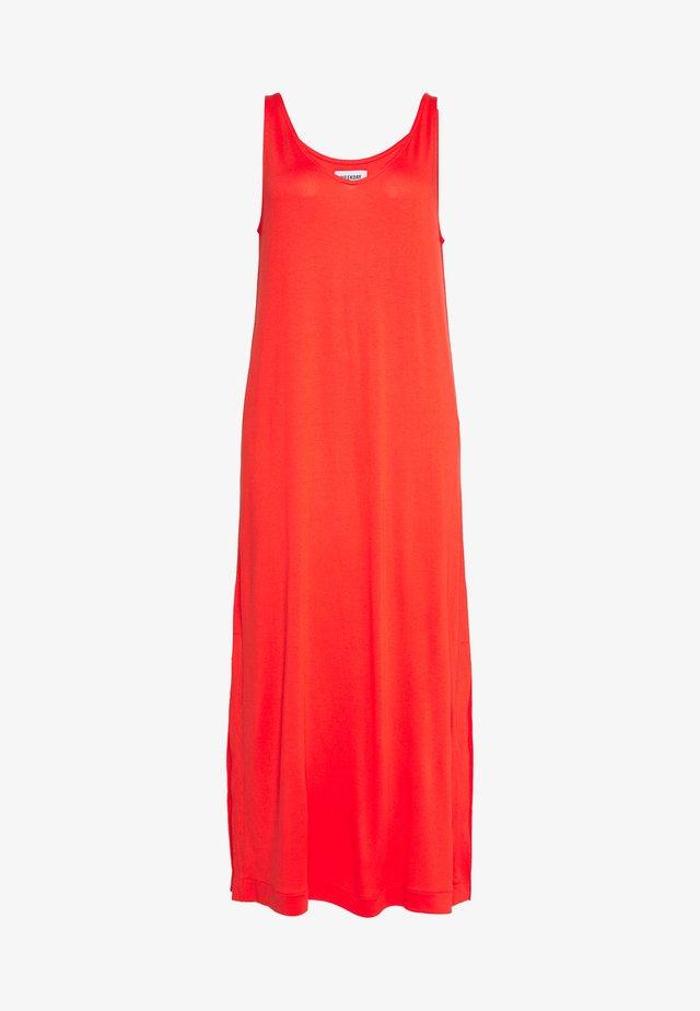 ABBY DRESS - Robe longue - bright red