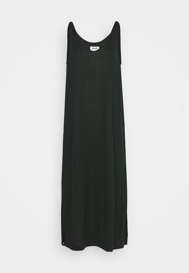 ABBY DRESS - Maxi-jurk - bottle green