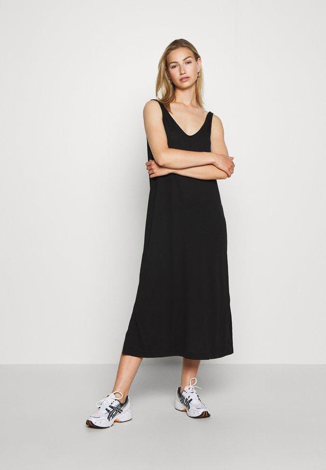 ABBY DRESS - Maxi-jurk - black