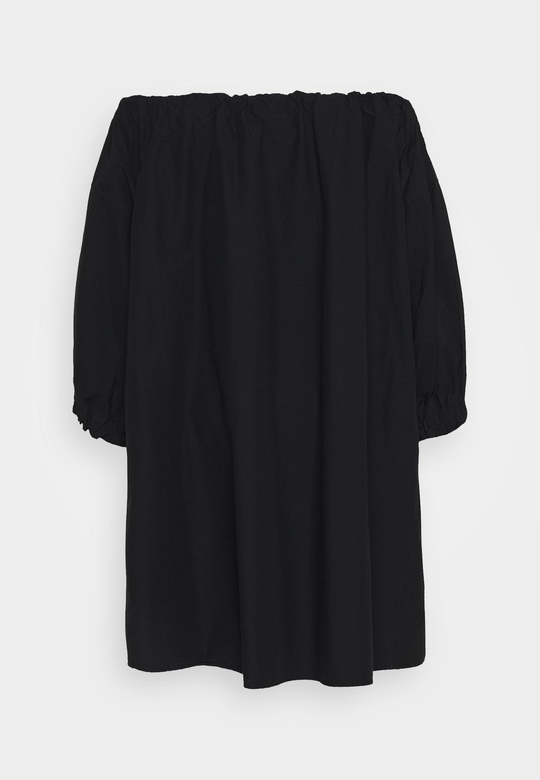 Weekday Tuva Dress - Vapaa-ajan Mekko Black