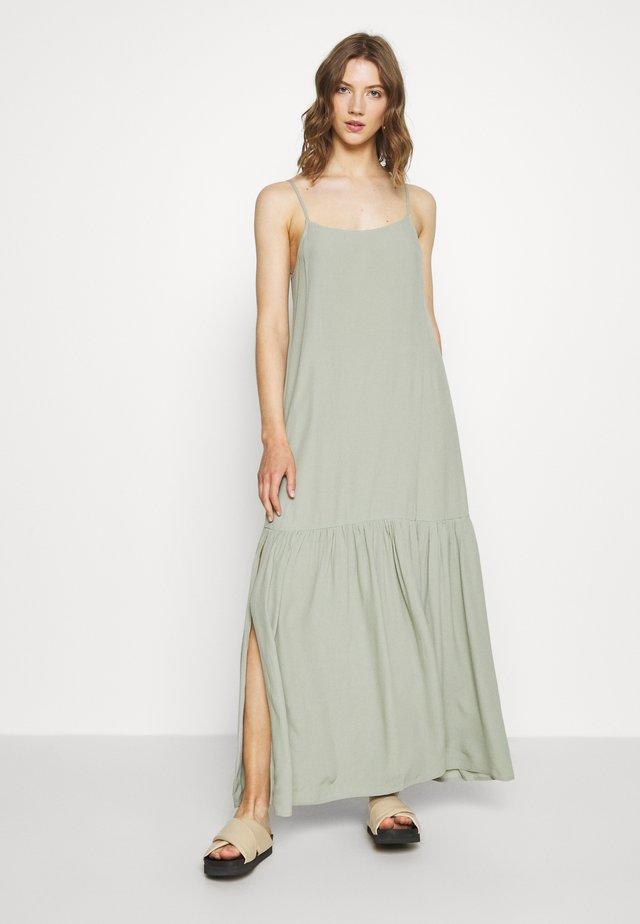 ALVA DRESS - Vestido largo - dusty light green