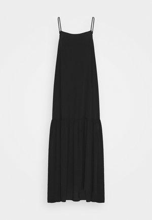 ALVA DRESS - Maksimekko - black