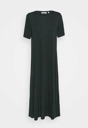 SAMIRA DRESS - Maxi-jurk - bottle green