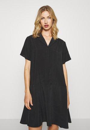 KANDI DRESS - Shirt dress - black
