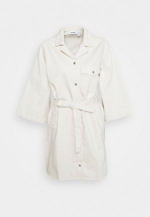 ROSS DRESS - Spijkerjurk - ecru