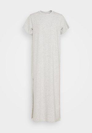STROKE DRESS - Vestido largo - light grey