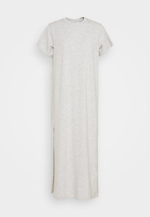 STROKE DRESS - Maxi-jurk - light grey