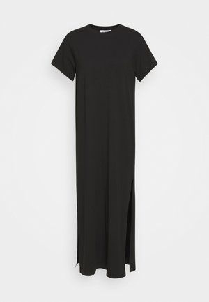STROKE DRESS - Robe longue - black