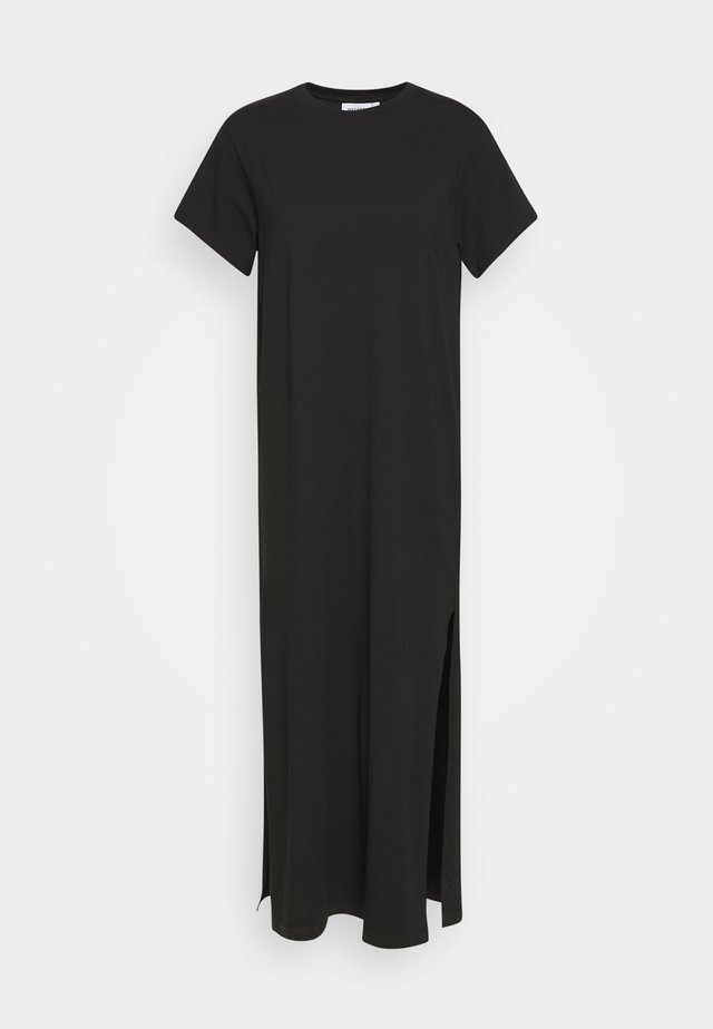 STROKE DRESS - Maxi šaty - black