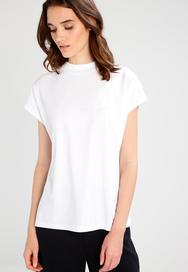 Weekday - PRIME - Jednoduché triko - white