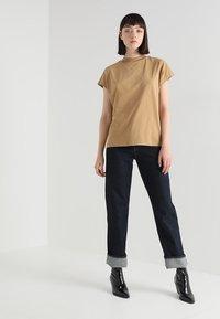 Weekday - PRIME - T-shirt basic - beige - 1