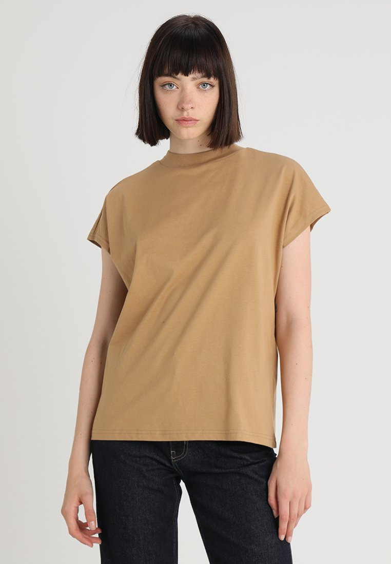 Weekday - PRIME - T-shirt basic - beige