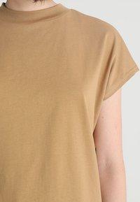 Weekday - PRIME - T-shirt basic - beige - 5