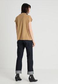 Weekday - PRIME - T-shirt basic - beige - 2