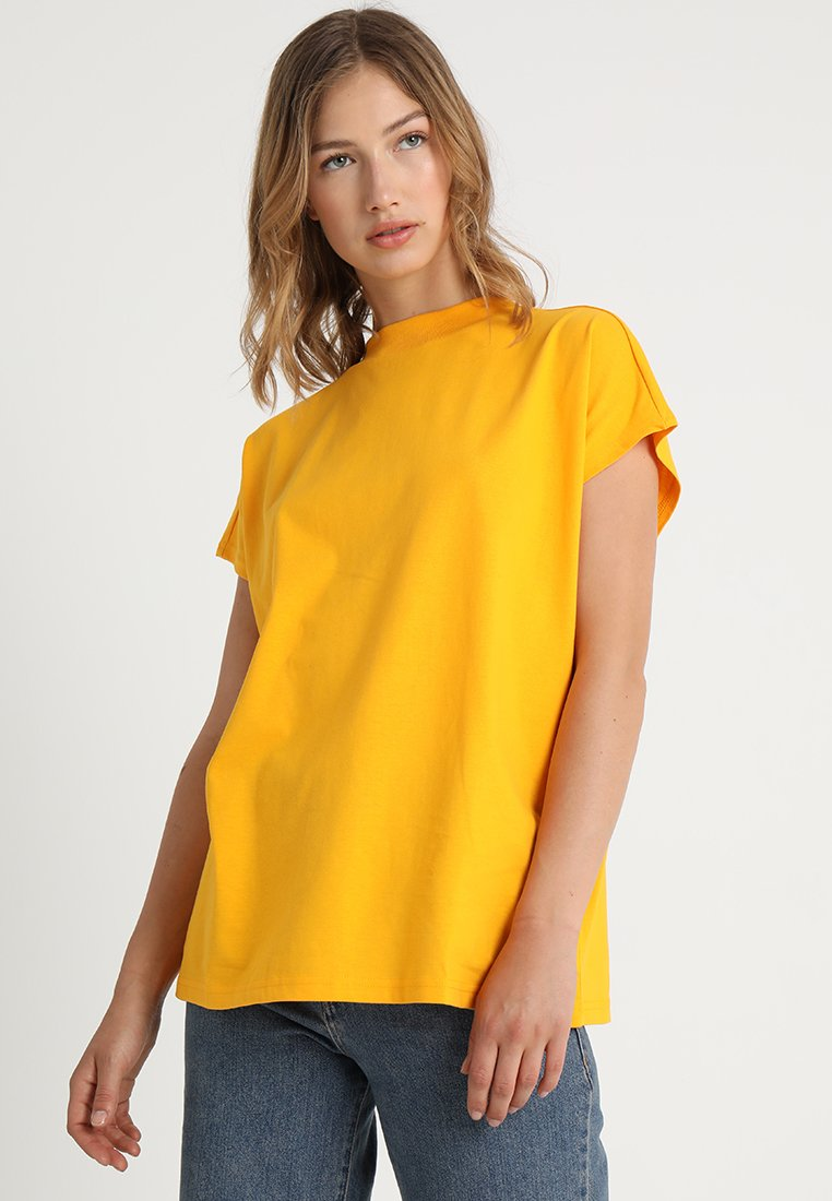Weekday - PRIME - Basic T-shirt - yellow