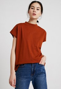Weekday - PRIME - T-shirts - dark orange - 0