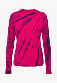 Weekday - MEJA LONG SLEEVE - T-shirt à manches longues - bright pink - 3