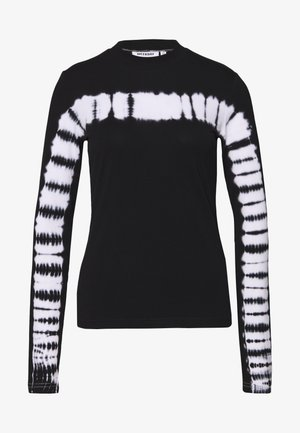 MEJA LONG SLEEVE - Camiseta de manga larga - black/white