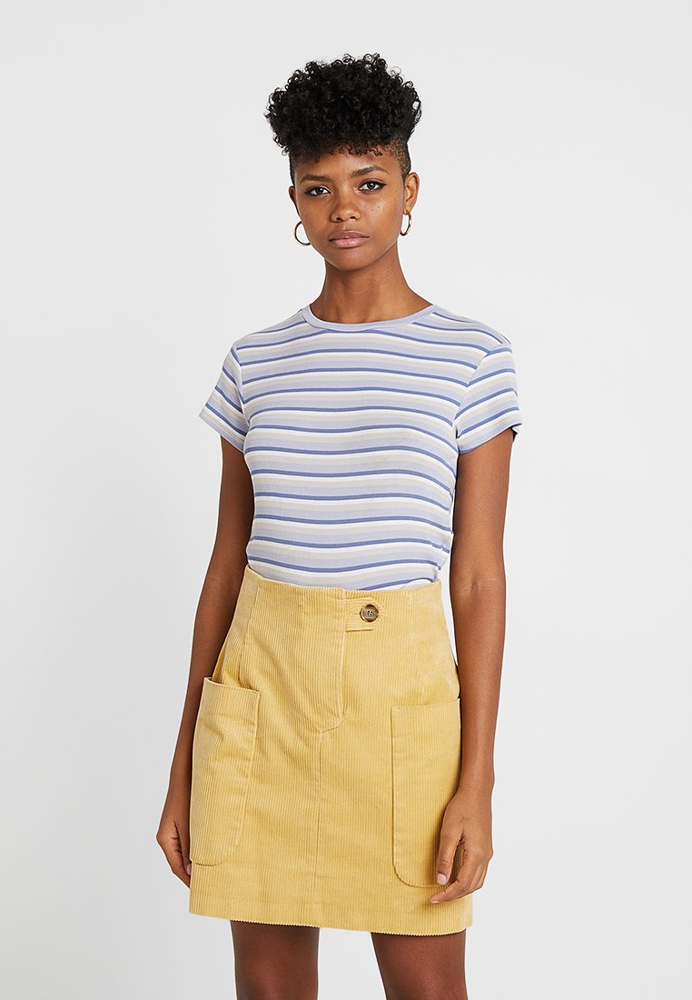 Weekday - FRANCES  - Basic T-shirt - lavender