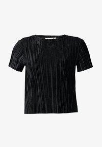 Weekday - CUATRO - Camiseta estampada - black - 4