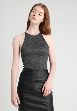 ALINO BODY - Top - black/multi colour