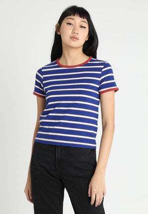 DANIKA STRIPE - T-shirt print - blue