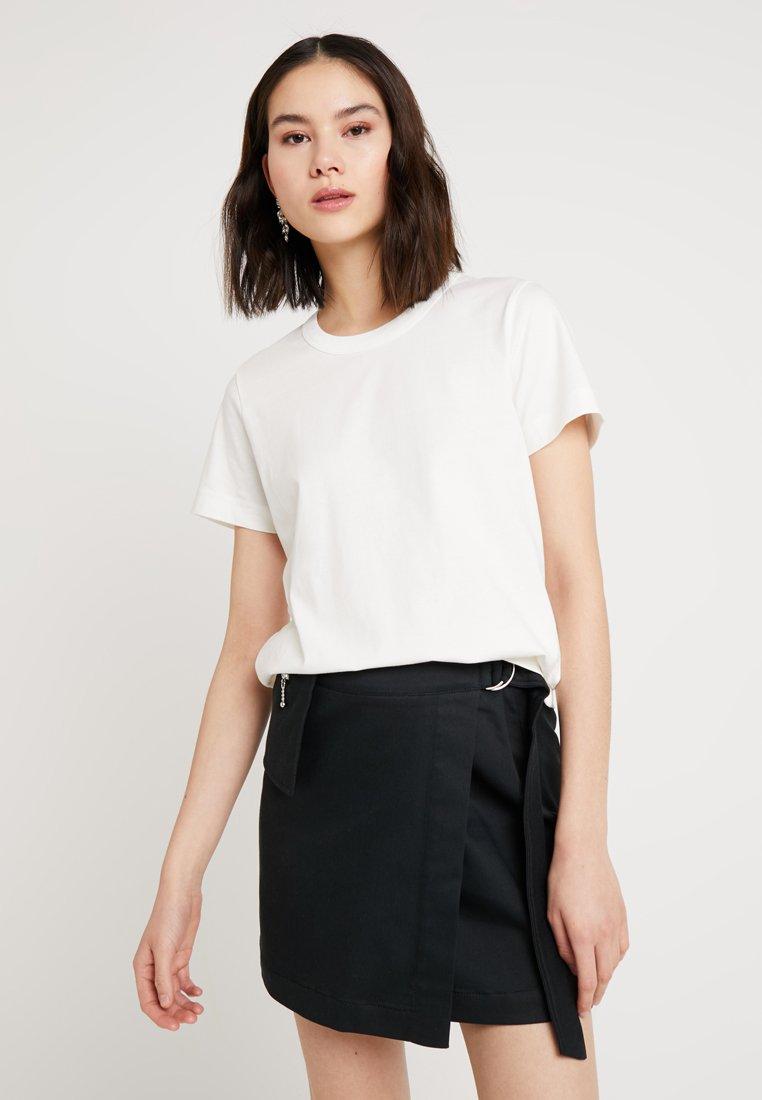Weekday - KATE - Print T-shirt - white