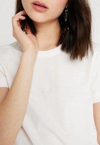 Weekday - KATE - Print T-shirt - white - 5
