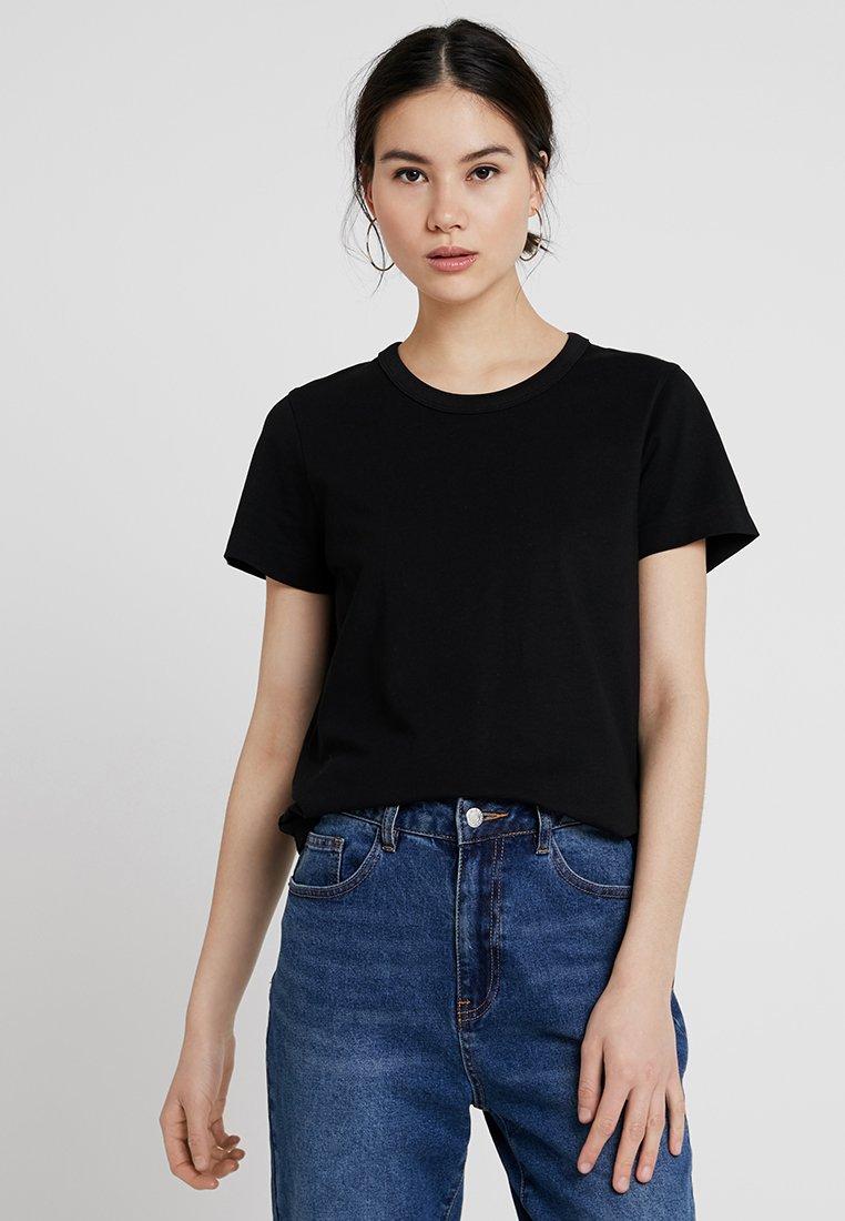 Weekday - KATE - T-Shirt print - black