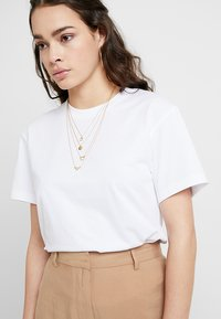 Weekday - ALANIS - Basic T-shirt - white - 4