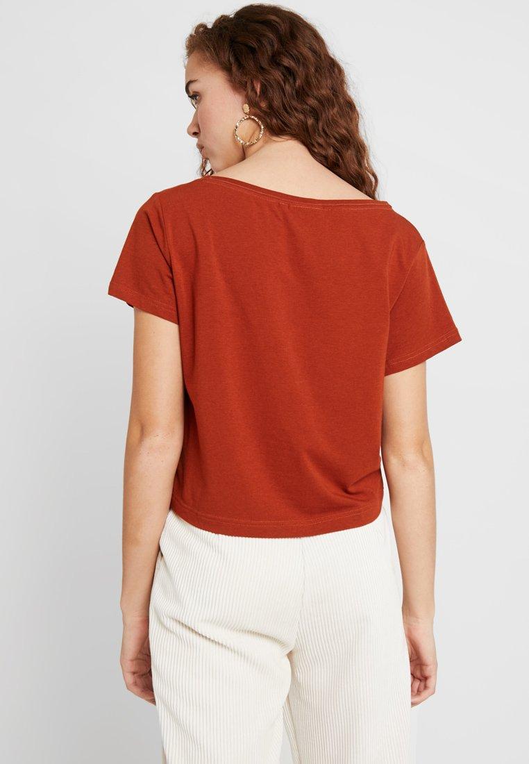 Rust Basic Weekday shirt Orange SusieT WIH9ED2