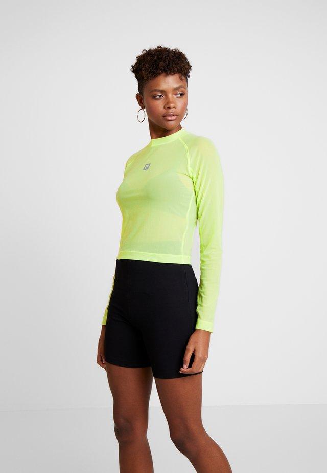 FILA FOR WEEKDAY CORA - Long sleeved top - sharp green