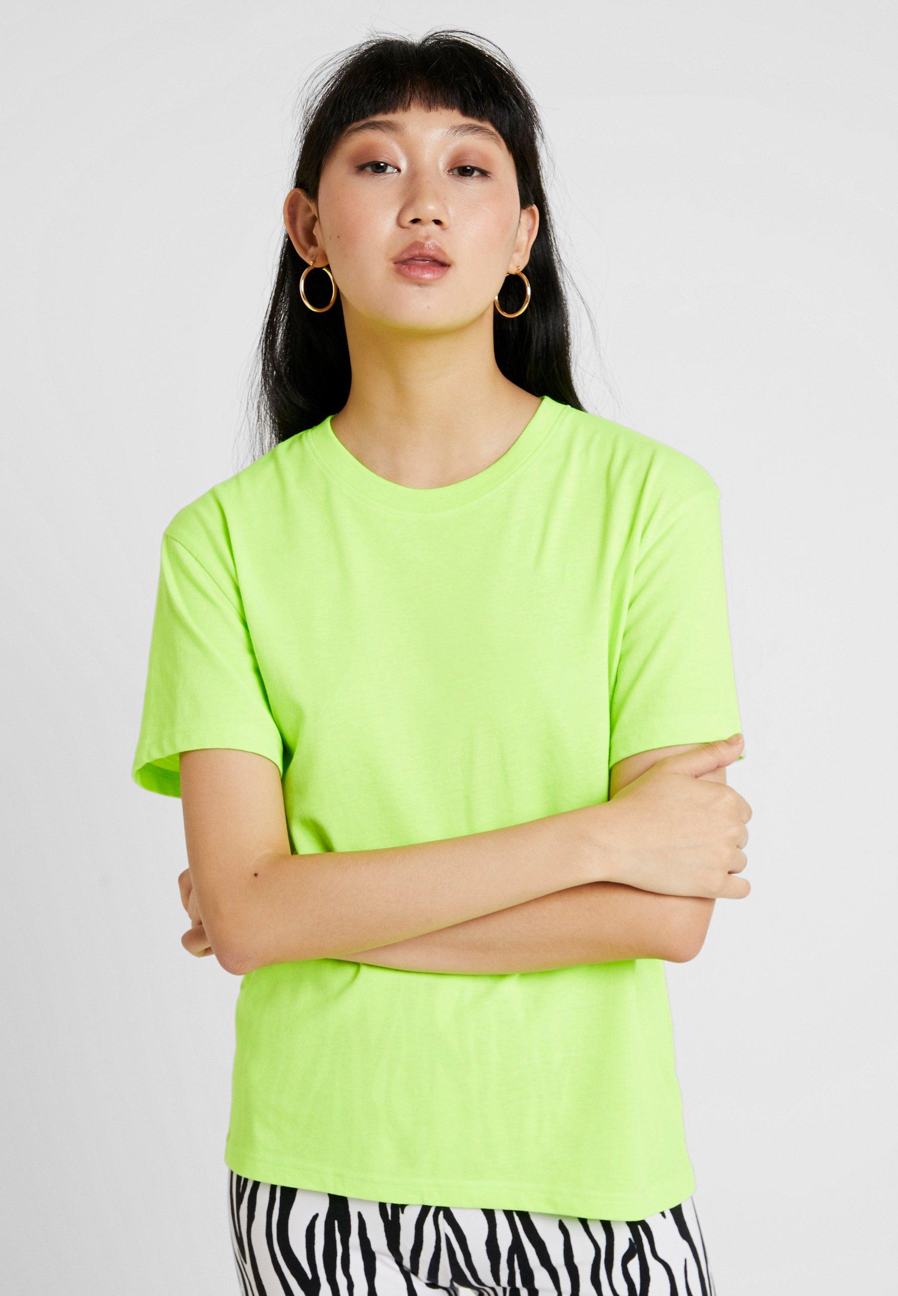 Neon Green shirt Basique AlanisT Weekday wOuXilZkTP