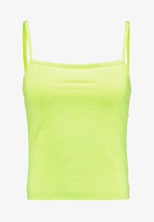 HILDA SINGLET - Top - neon green