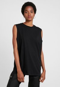 Weekday - FAST TANK - Top - black - 0