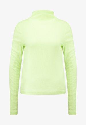 FLUTE TURTLENECK - Bluzka z długim rękawem - neon yellow