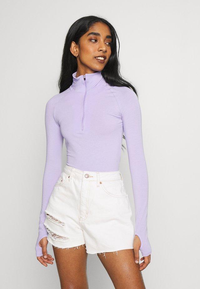 SANDY LONG SLEEVE - T-shirt à manches longues - lavender