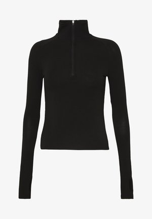 SANDY LONG SLEEVE - Top s dlouhým rukávem - black dark